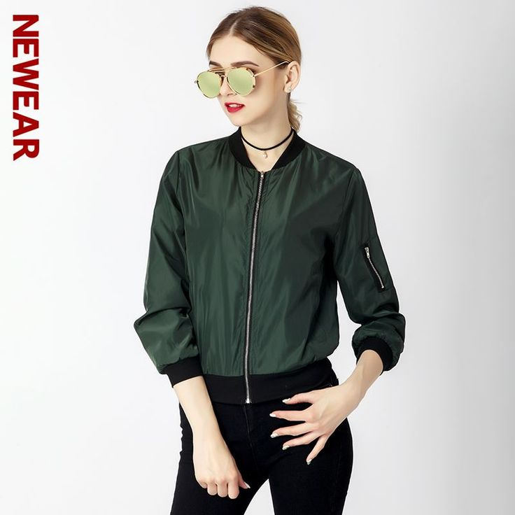 Find More Basic Jackets Information about NEWEAR Women Casual Slim Jacket Coat Autumn Winter Windbreaker Tops Long Sleeve Fashion Stand Collar Jacket Pocket Zipper Coat,High Quality jacket coat,China zipper coat Suppliers, Cheap coat fashion from NEWEAR Store on Aliexpress.com