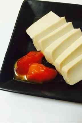 豆腐と卵黄の味噌漬け