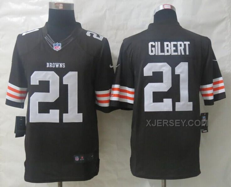 jersey cleveland browns 21 gilbert brown new nike limited jerseys .
