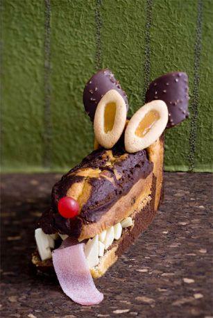 Des gâteaux originaux pour un anniversaire inoubliable - Le Gâteau Loup - Femme Actuelle