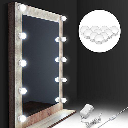 Style Lumière 10 Lampe Miroir Hollywood Dimmable LedAuledio dWCBrxoe