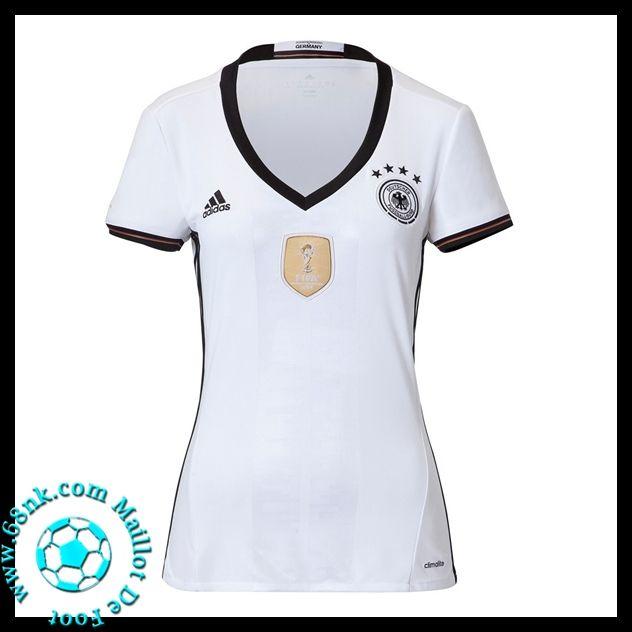Maillots foot Femme Allemagne Euro 2016 Domicile