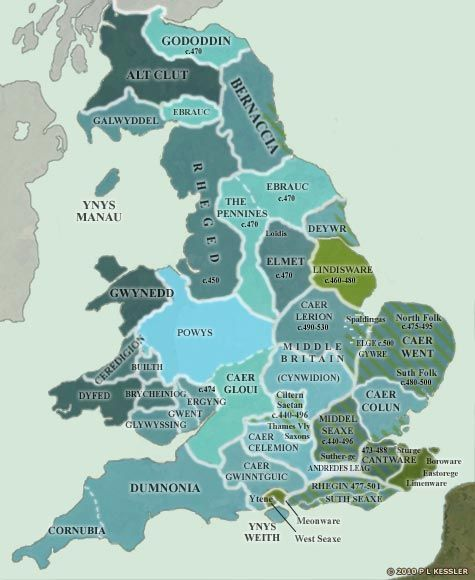Map Of Uk 500 Ad.Britain Ad 475 500 History Map Of Britain Map European History