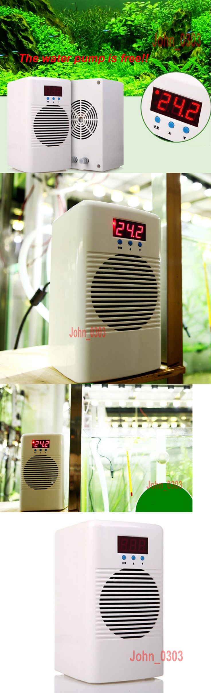 Heaters and Chillers 177799: 20L 30L Fish Shrimp Tank Aquarium Water Chiller Cooling Heat Machine Thermostat BUY IT NOW ONLY: $125.85