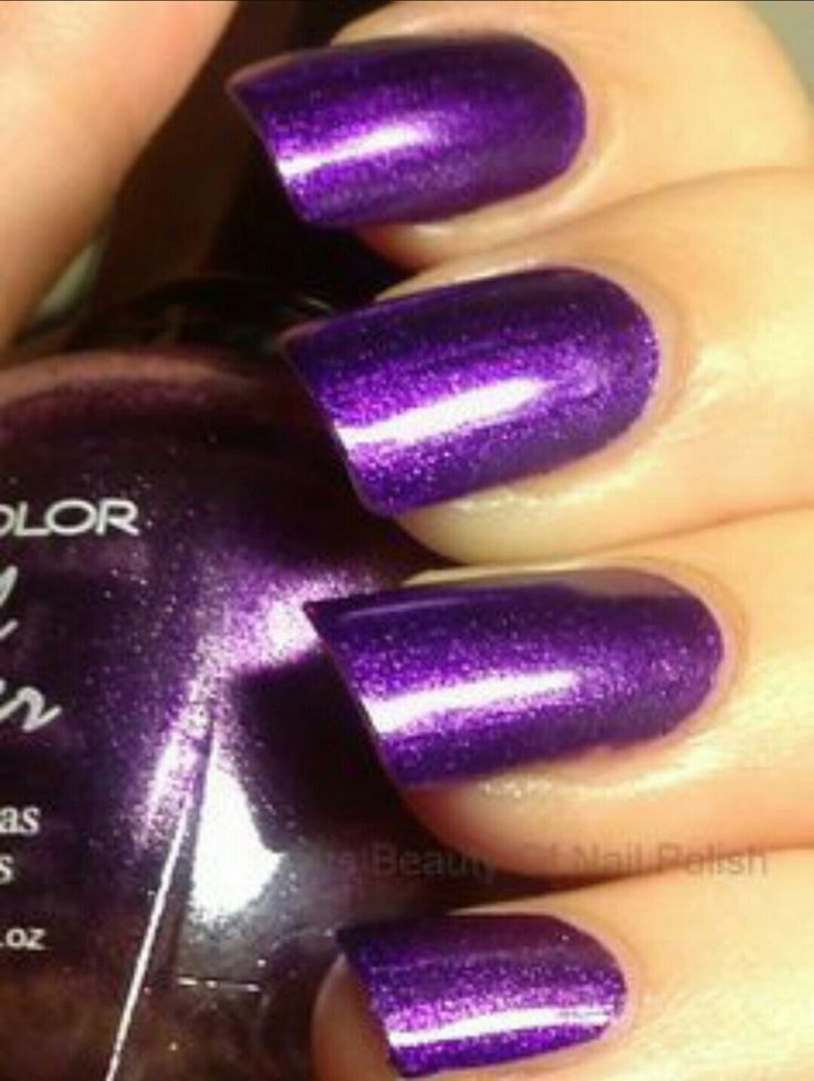 Kleancolor 167 metallic purple