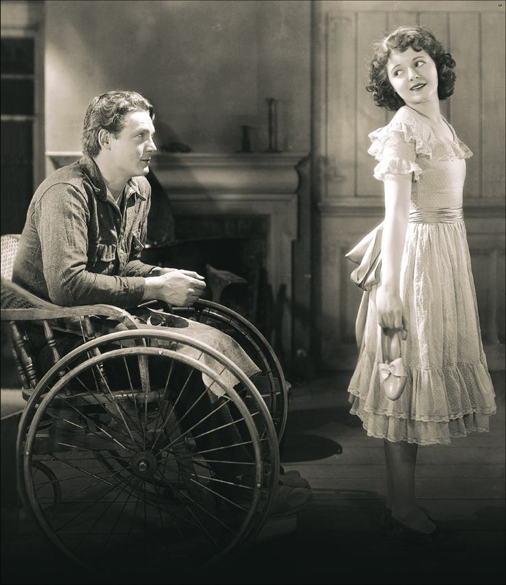 Janet Gaynor and Charles Farrell in Lucky Star, 1929 (Dir. Frank Borzage)