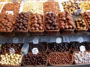 Go to Belgium and only eat chocolate for the first few days :)