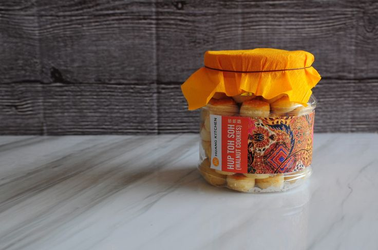 Walnut Cookies Hup Toh Soh - Jar Pack | Chinese New Year Cookies 2017 Preorder | RM18