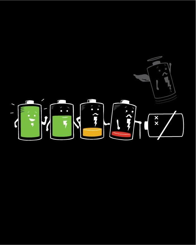 Батарейки прикольные картинки