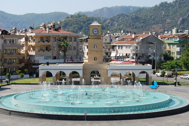 Marmaris Fountain Square Daytime