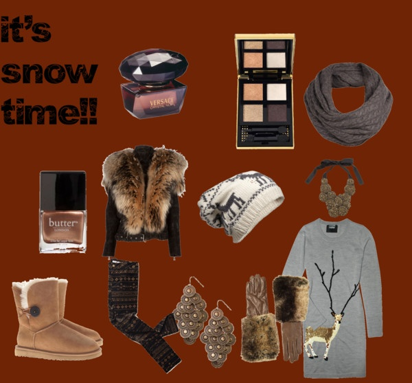 """""""it's snow time!!"""" by michellebos1 on Polyvore"""