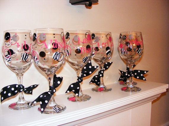 15 best images about decorated glasses  cups on pinterest