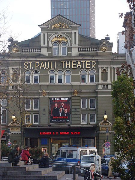 St Pauli Theater #welovehh #typischhamburch #Moin