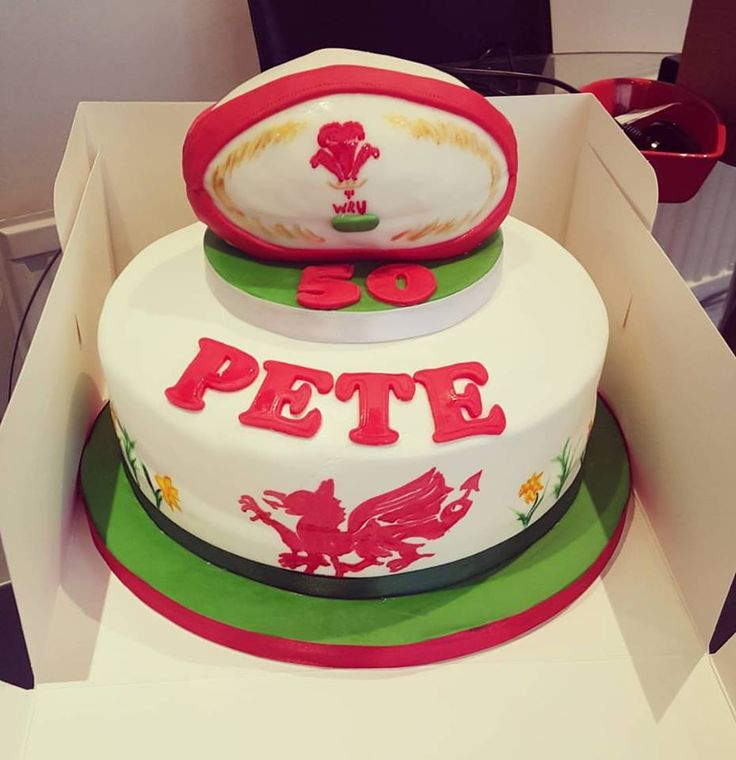 Cake Decorating Ideas Rugby : 31 best Rugby Cake Ideas images on Pinterest Rugby cake ...