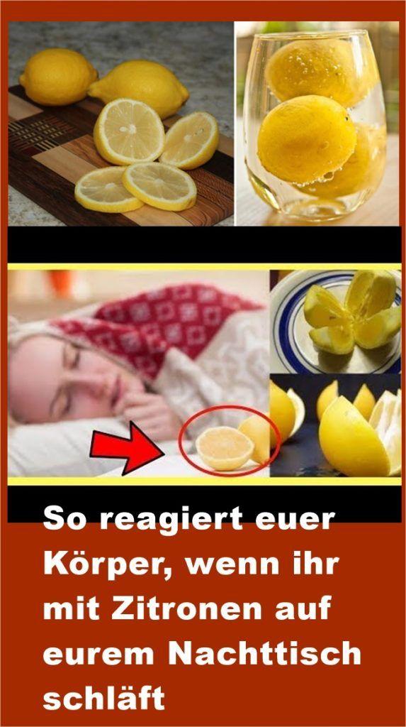 So reagiert euer Körper, wenn ihr mit Zitronen auf eurem Nachttisch schläft | …