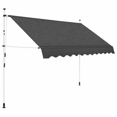 Bock Manual W 3 X D 1m Retractable Patio Awning Sol 72 Outdoor Colour Anthracite Outdoor Awnings Retractable Awning Patio Sun Shades