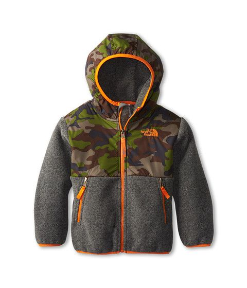 The North Face Kids Denali Hoodie. This is Brayden's jacket this winter. He loves it!