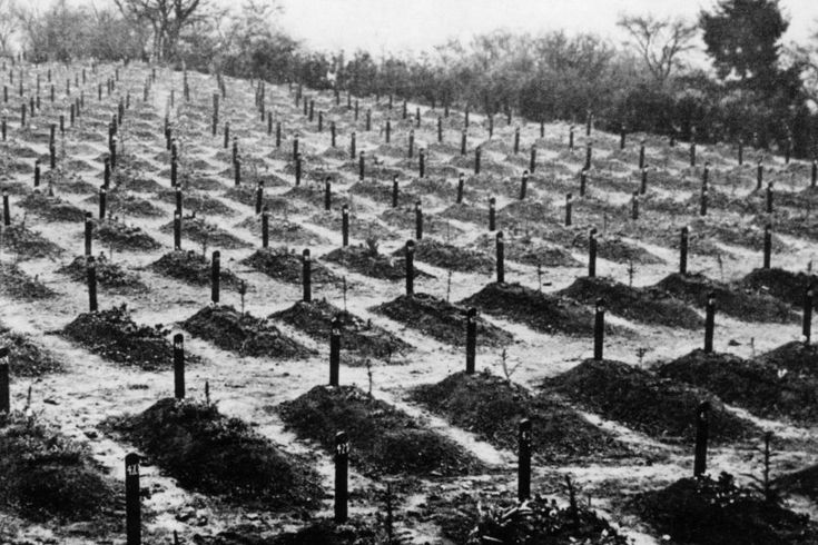 """Auf dem  Friedhof in Hadamar  wurden die Opfer der """"T4-Aktion"""" begraben. In..."""