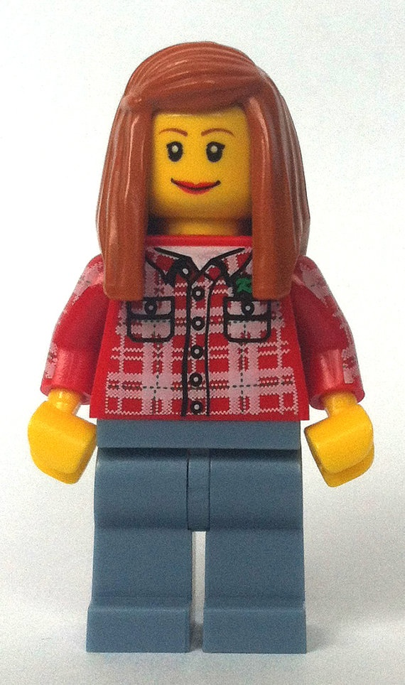 Lego Doctor Who Amy Pond