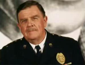 Pat Hingle.  Great character actor.  Met him in Suffern years ago while shopping in grocery store.