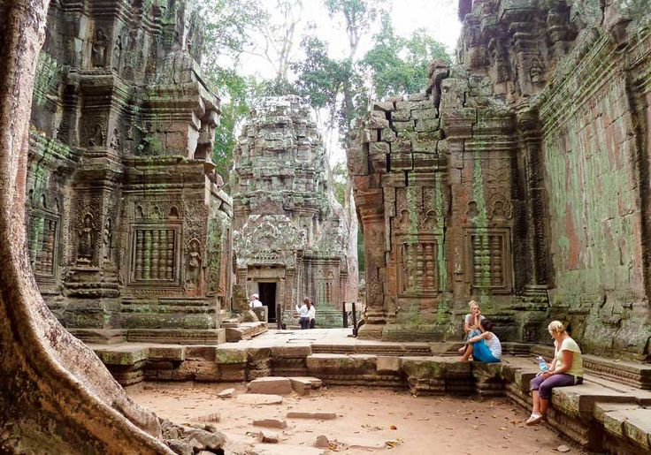 9. Siem Reap, Camboya.