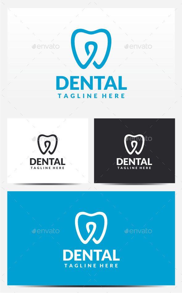 Dental  - Logo Design Template Vector #logotype Download it here: http://graphicriver.net/item/dental-logo/12689614?s_rank=642?ref=nesto