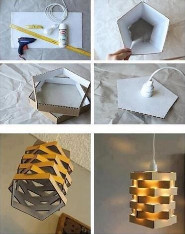 24 DIY Cardboard projects                                                                                                                                                                                 More