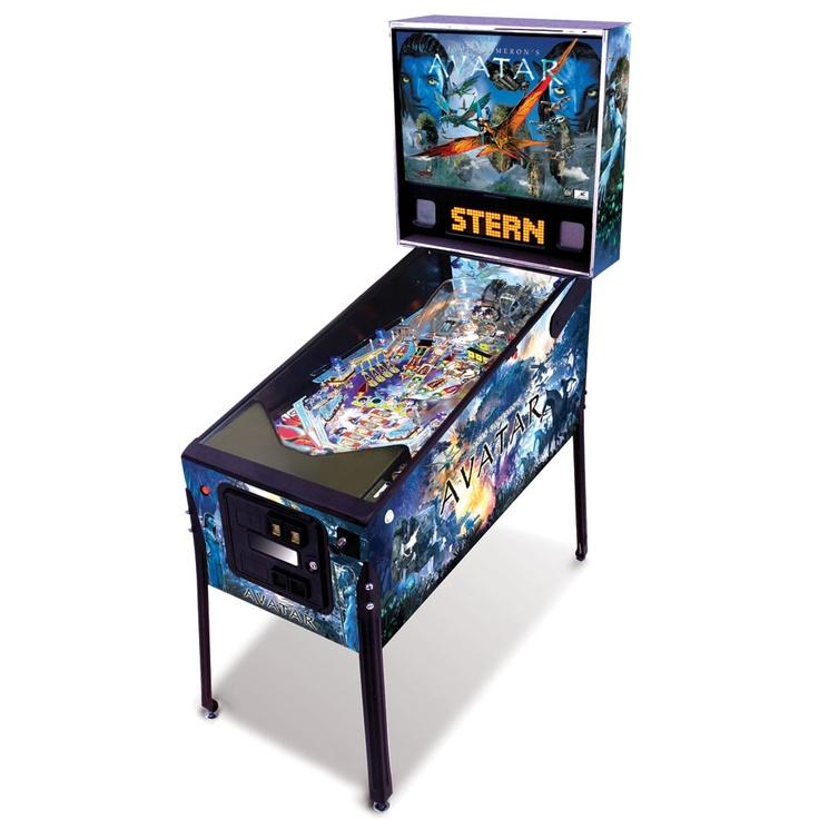 The Avatar Pinball Machine - Hammacher Schlemmer