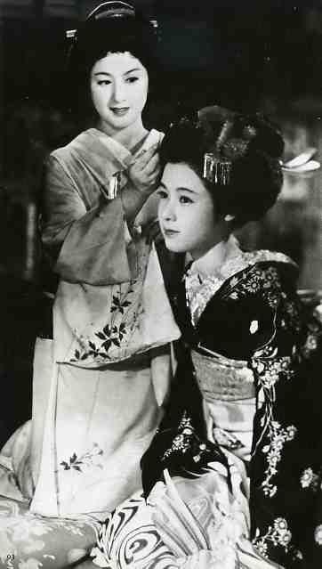 溝口健二監督「祇園囃子」1953年/若尾文子、木暮実千代