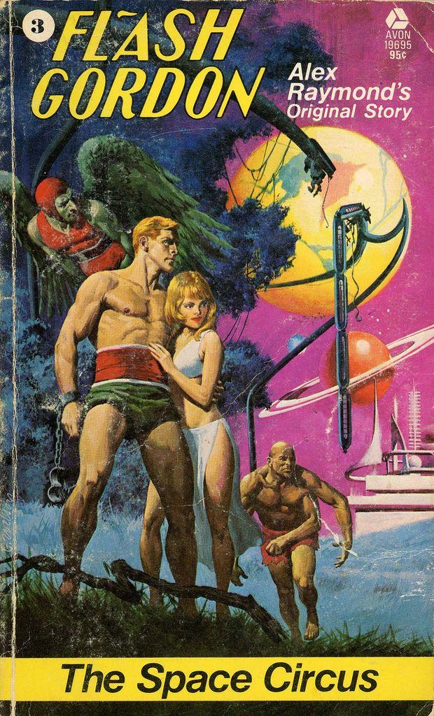 George Wilson : 'Flash Gordon 3 - The Space Circus' by Alex Raymond / Avon 19695, 1974