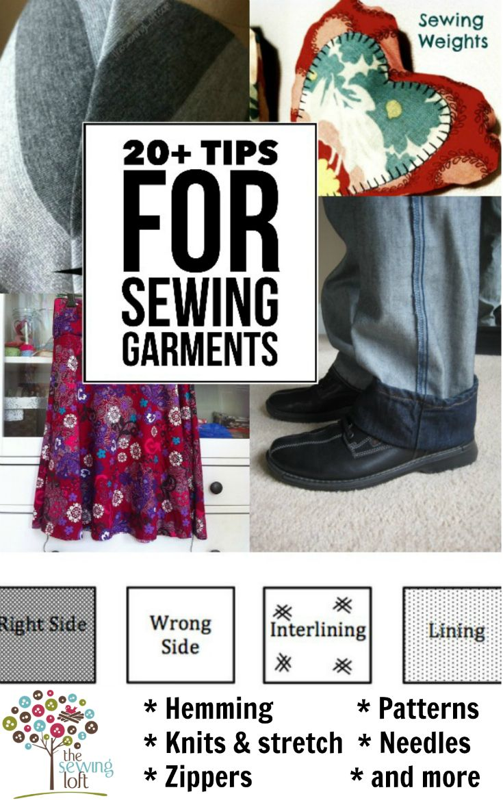 Take your garments to the next level with these easy sewing tips. Whether you need to make alterations, sew from a pattern or create a garment from scratch, you'll find useful tips and ideas here to help you get a better finish on your clothing sewing projects. From The Sewing Loft