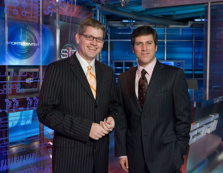 John Anderson and Steve Levy strike a pose in 2005.