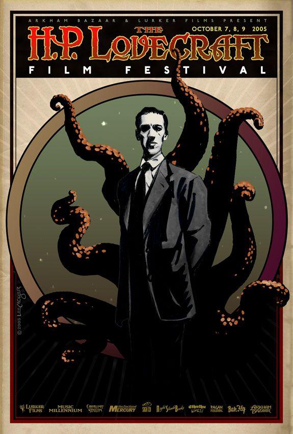 HP Lovecraft Film Festival Poster 2005