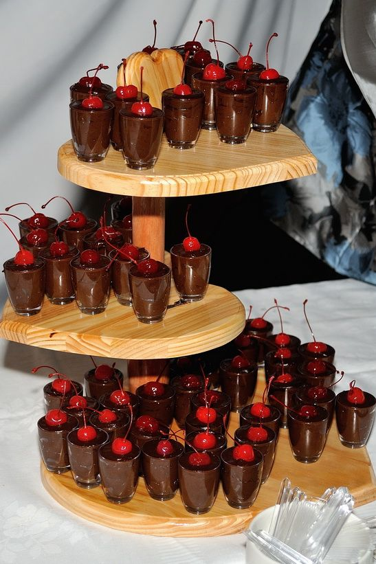 Heart dessert stand- another of my dad's creations