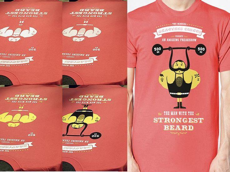 Für starke Männer mit starken Bärten!  #siebdruck #textildruck #textilveredelung #screenprinting #tshirt #beard #bart #bärte #shaving #rasur