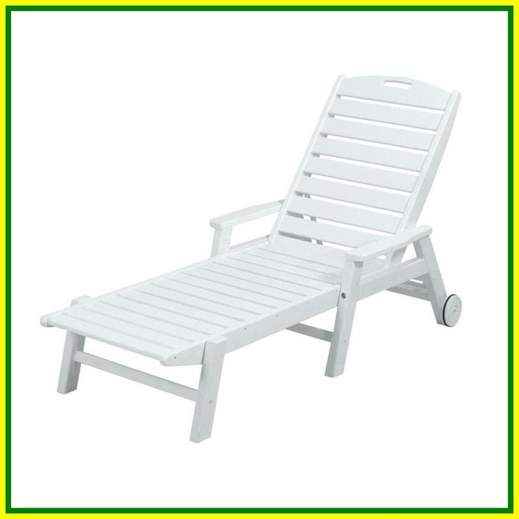 white plastic chaise lounge chairs