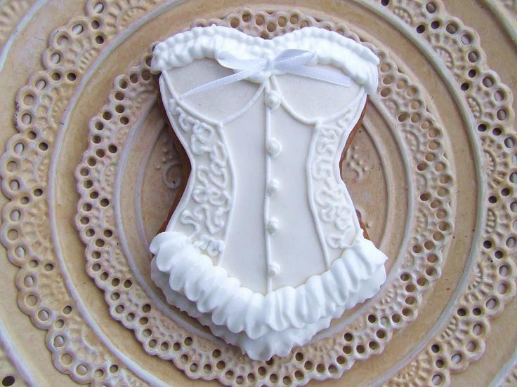 Victorian Corset Cookie