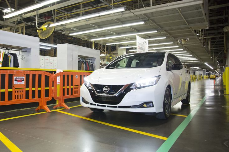 2018 Nissan Leaf Rolls Off the Line in Tennessee  http://www.motortrend.com/news/2018-nissan-leaf-rolls-off-line-tennessee/