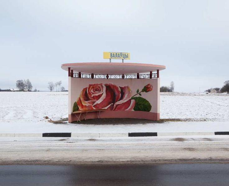 Painted Bus Stops in Belarus by Alexandra Soldatova — Medium