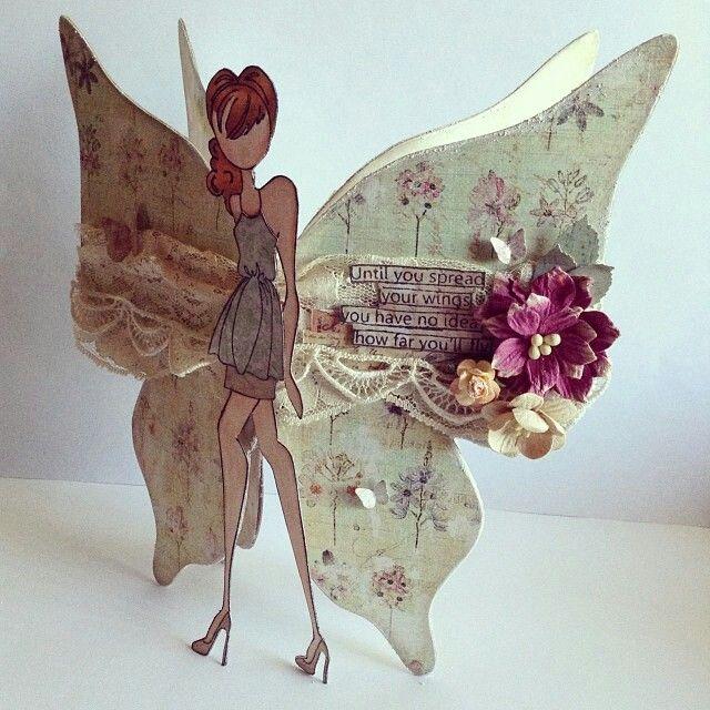 Prima Doll Butterfly created by Bona Rivera-Tran.