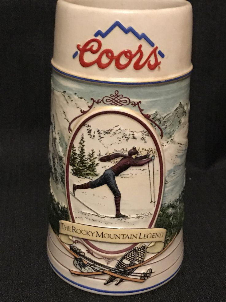 Beer Stein, Coors Brewing Company, Made in Brazil, Collectible Stein by vintagegeeks on Etsy