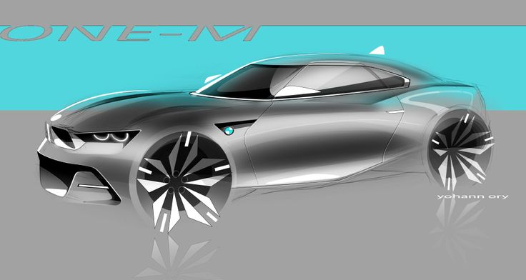 #bmw #one-m #car design #sketch