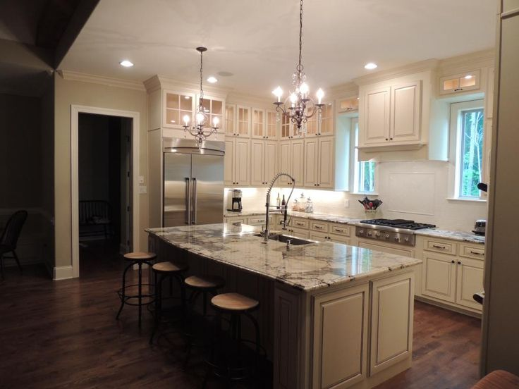 44 best Granite/Kitchen images on Pinterest   Granite kitchen ...