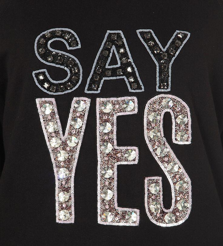MARKUS LUPFER - Belinda embellished cotton-jersey sweatshirt | Selfridges.com