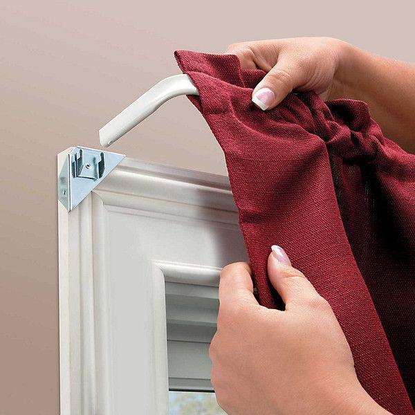 Best 25 Double Window Curtains Ideas On Pinterest Big