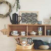 おしゃれインテリア入門に。無印良品の「壁に付けられる家具」実例集