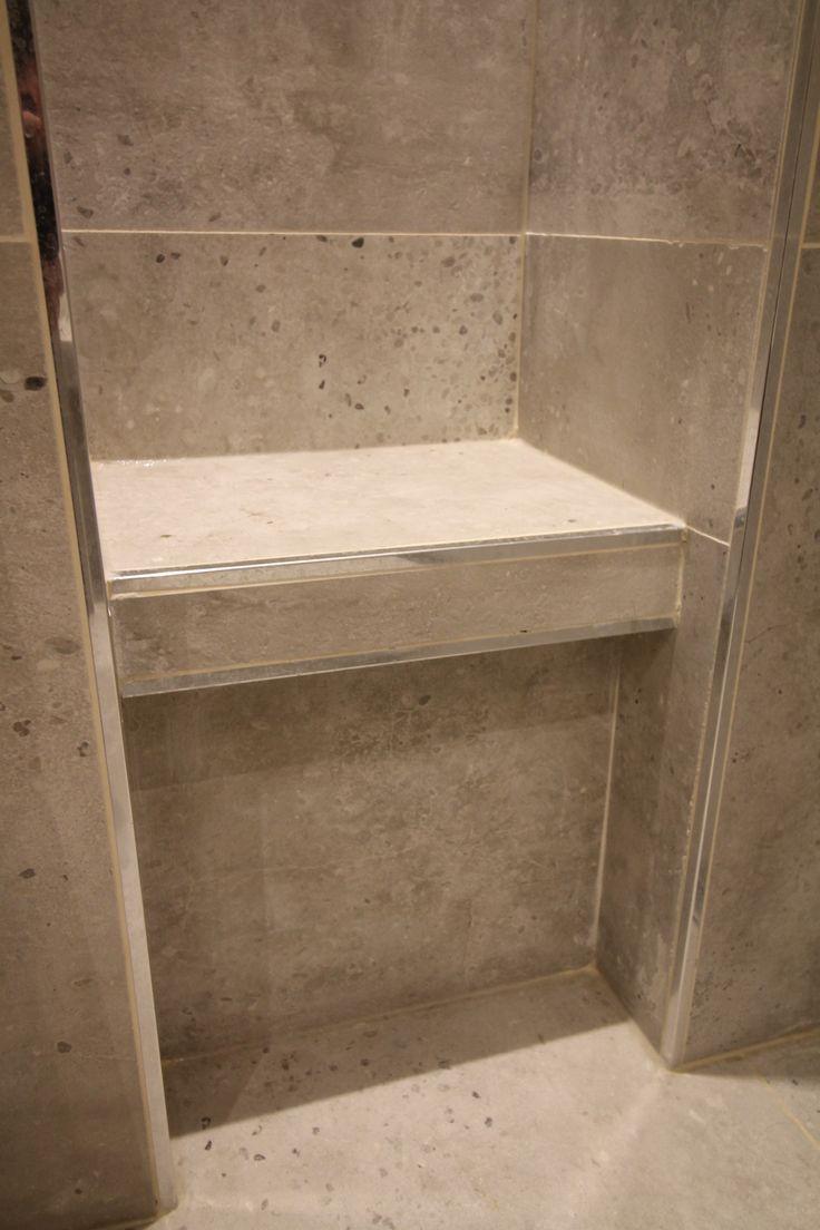42 best salle de bain bathroom images on pinterest for Prix d une salle de bain avec douche italienne