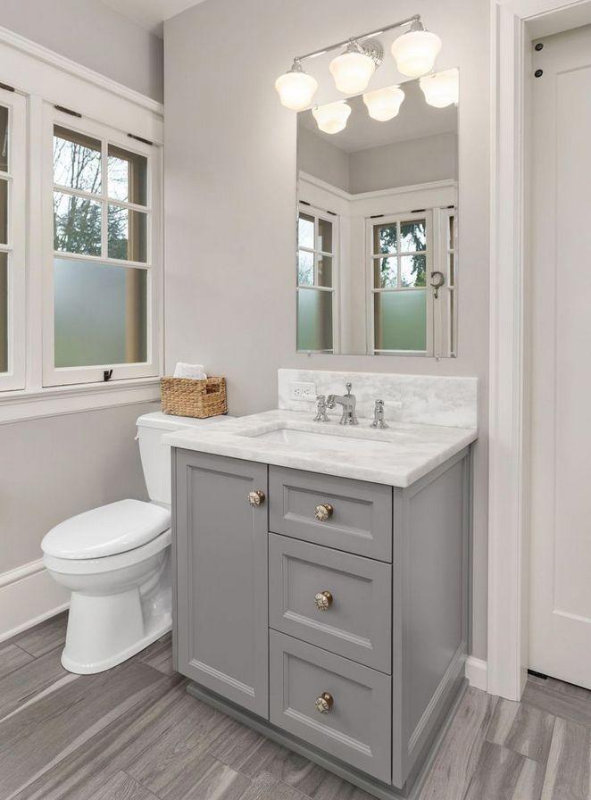 25 Gray And White Small Bathroom Ideas Bathroom Design Minimalist Bathroom Modern Bathroom