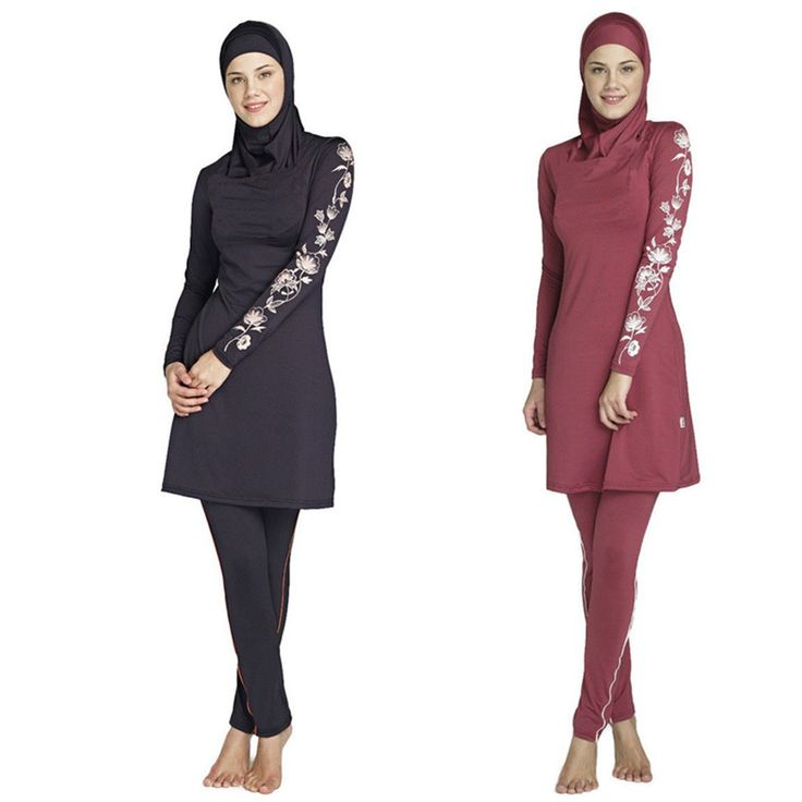 Modest Muslim Swimwear Islamic Swimsuit For Women hijab swimwear full coverage swimwear muslim swimming beachwear swim suit Sultan <3 AliExpress Affiliate's Pin.  Detailed information can be found on AliExpress website by clicking on the VISIT button