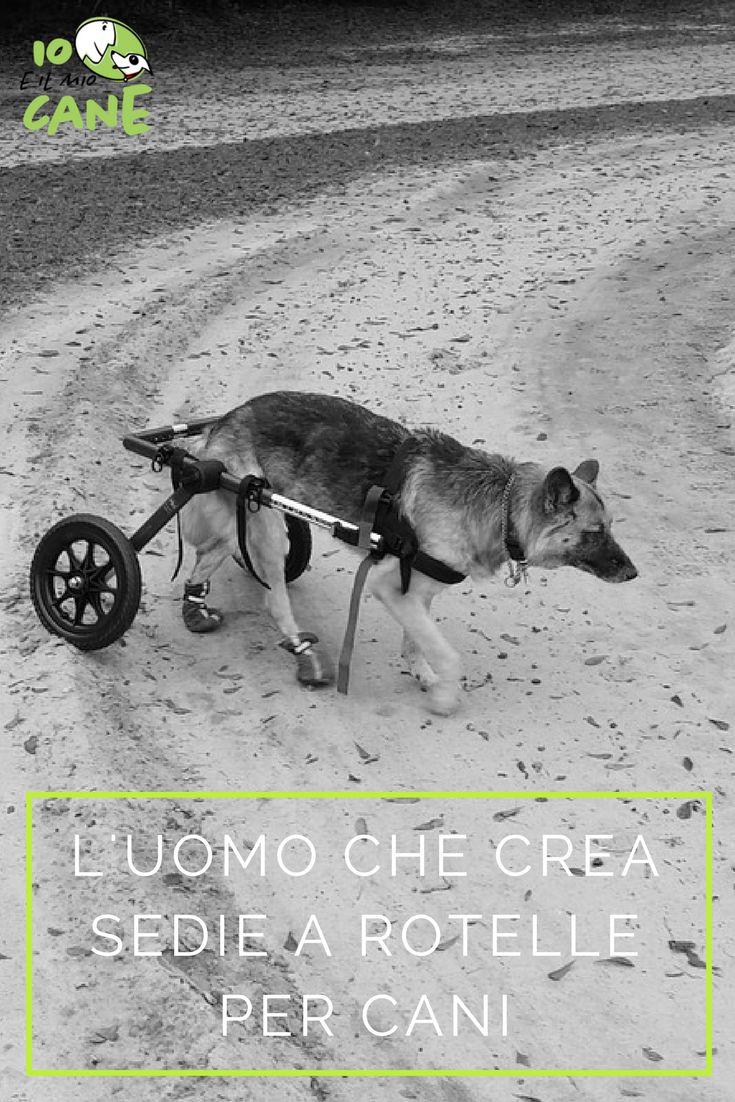 Vuoi conoscere la sua storia? e perchè passa il suo tempo libero a creare sedie a rotelle?